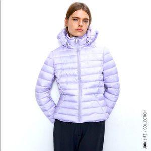 Zara NWT lightweight puffer Jacket